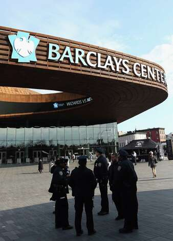 Barclays Center – Brooklyn Nets – $20 million per year. Photo: Bruce Bennett, Getty Images / 2013 Getty Images