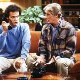 Billy Crystal and Richard Mulligan in \'\'The Real Burt\'\' episode.