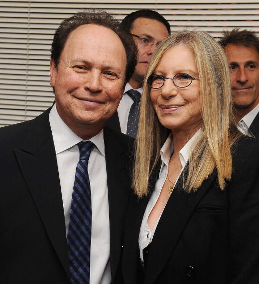 Billy Crystal and Barbra Streisand in 2012. Photo: Michael Kovac, WireImage / 2012 Michael Kovac