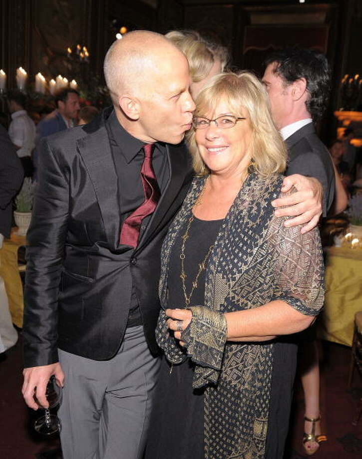 """Writer Jennifer Salt and Director Ryan Murphy attend the after party for the premiere of \""""Eat Pray Love\"""" at the Metropolitan Club in 2010. Photo: Michael Loccisano, Getty Images / 2010 Getty Images"""