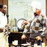 Robert Guillaume played Benson —From Wikipedia: Benson was the Tates\' wisecracking butler in the early seasons, who showed utter contempt for Chester, but had a soft spot for Jessica, Corinne, and Billy, and completely ignores Eunice. In 1979, Benson leaves to be the head of household affairs for Jessica\'s cousin, Governor Eugene Gatling, in the spin-off, Benson.