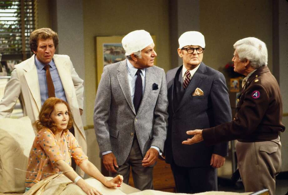 Robert Mandan played Chester Tate (second from left)— From Wikipedia: He was a wealthy stock broker and Jessica\'s philandering husband. Chester and Jessica separate in season three and divorce in season four, although Chester still loves Jessica enough to duel for her honor.