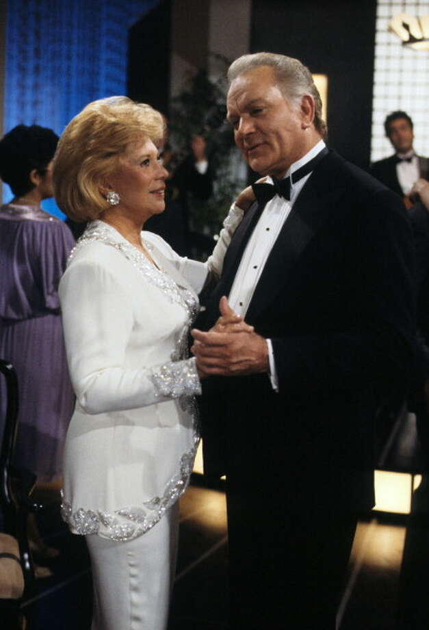 Robert Mandan with Dinah Shore in 1987. Photo: ABC Photo Archives, ABC Photo Archives/Getty Images / 2011 American Broadcasting Companies, Inc.
