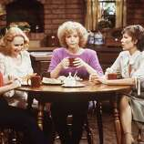 Episode 52 - Season Three - 10/11/79 Corrine (Diana Canova), Jessica (Katherine Helmond), Mary (Cathryn Damon) and Eunice (Jennifer Salt) discussed their men. (AMERICAN BROADCASTING COMPANIES, INC.)