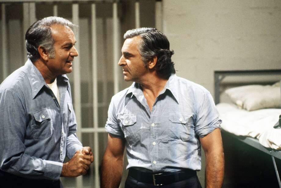 Episode 27 - Season Two - 9/21/78 Chester (Robert Mandan) is put in the same cell with Dutch (Donnelly Rhodes), another convicted murderer. (ABC/JIM BRITT)