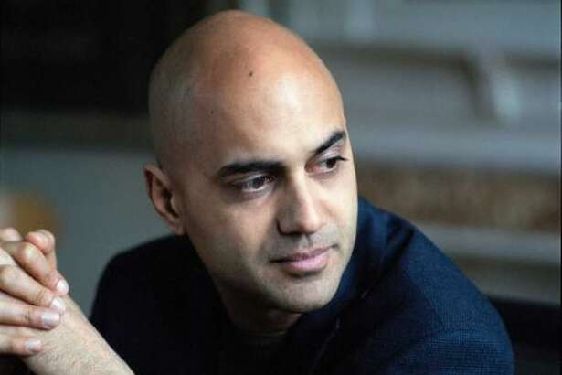 """This undated photo provided by the Pulitzer Prize Board shows Ayad Akhtar, who was awarded the 2013 Pulitzer Prize for Drama for his work """"Disgraced"""", announced in New York, Monday, April 15, 2013. (AP Photo/Pulitzer Prize Board)"""