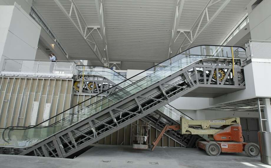 The $97 million south concourse will be open to limited flight operations over the next two weeks.