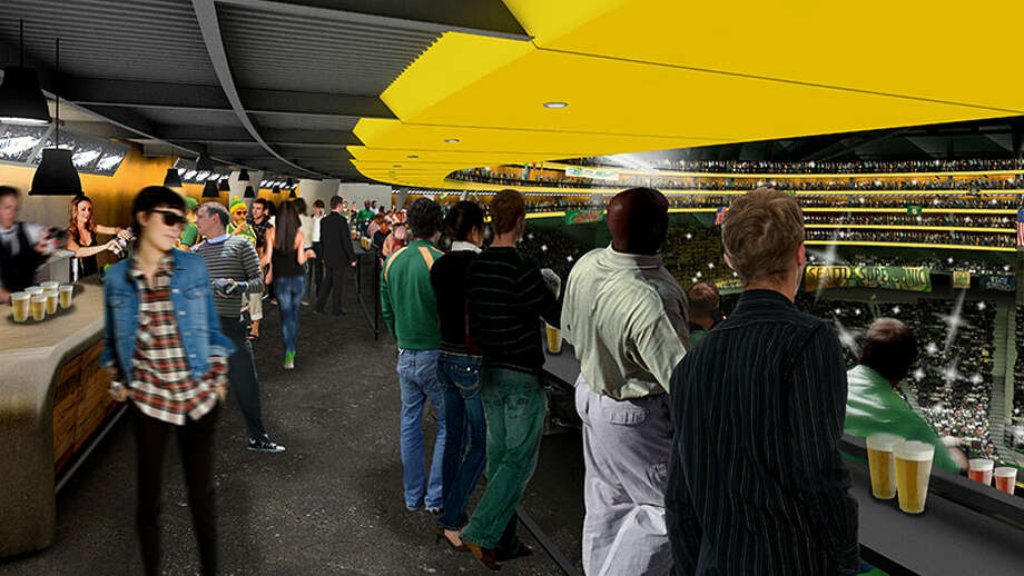 April 2, 2013: Chris Hansen's group announces that nearly 45,000 people have signed up for the Sonics tickets waitlist, plus 268 applicants for suites and 983 indications of interest in business sponsorships.  Photo: Courtesy Image, SonicsArena.com