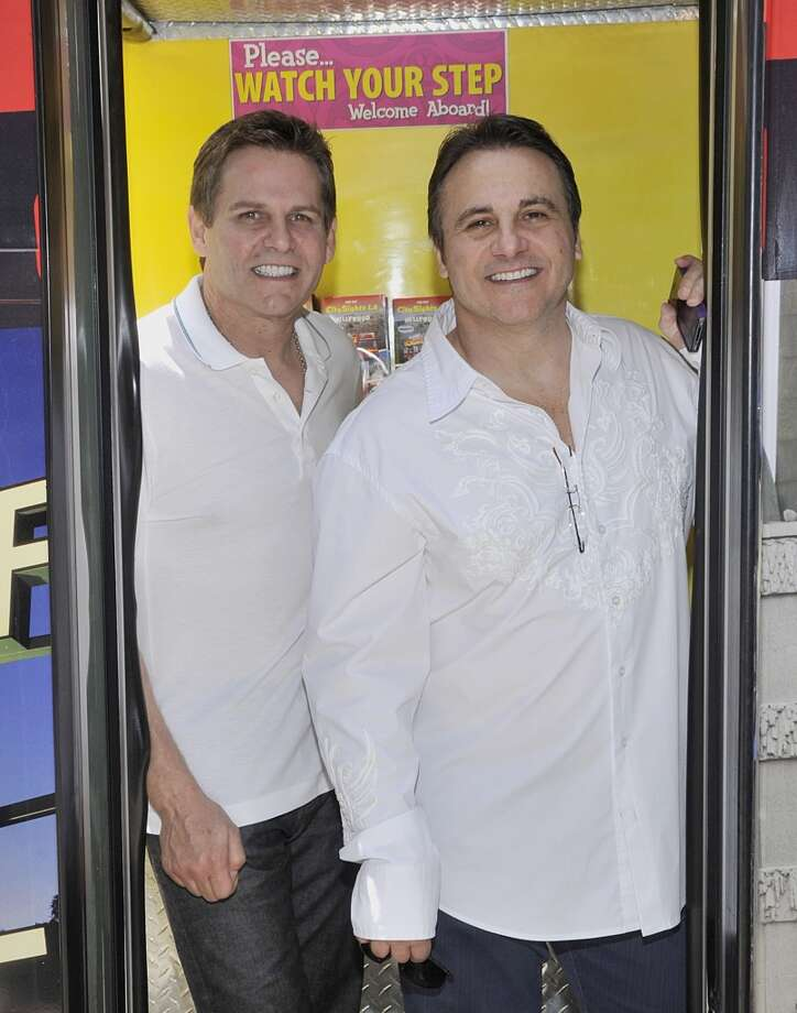 April 10, 2013:The Maloofs reportedly set a deadline of 5 p.m. Friday, April 12, for the Sacramento group to submit a written ''back-up'' offer in case the NBA rejects Chris Hansen's plan to buy the Kings and relocate them to Seattle. (Brothers Joe and George Maloof are pictured.)  Photo: John M. Heller, Getty Images
