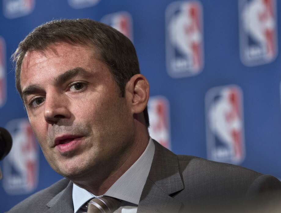 April 11, 2013:A minority owner of the Kings is expected to match Chris Hansen's offer for the 7 percent chunk of the franchise that's tied up in a California bankruptcy court. Due to a right of first refusal, Kings limited partner David Lucchetti is able to match Hansen's $15.1 million offer, The Sacramento Bee reports.  Photo: Richard Drew, Associated Press