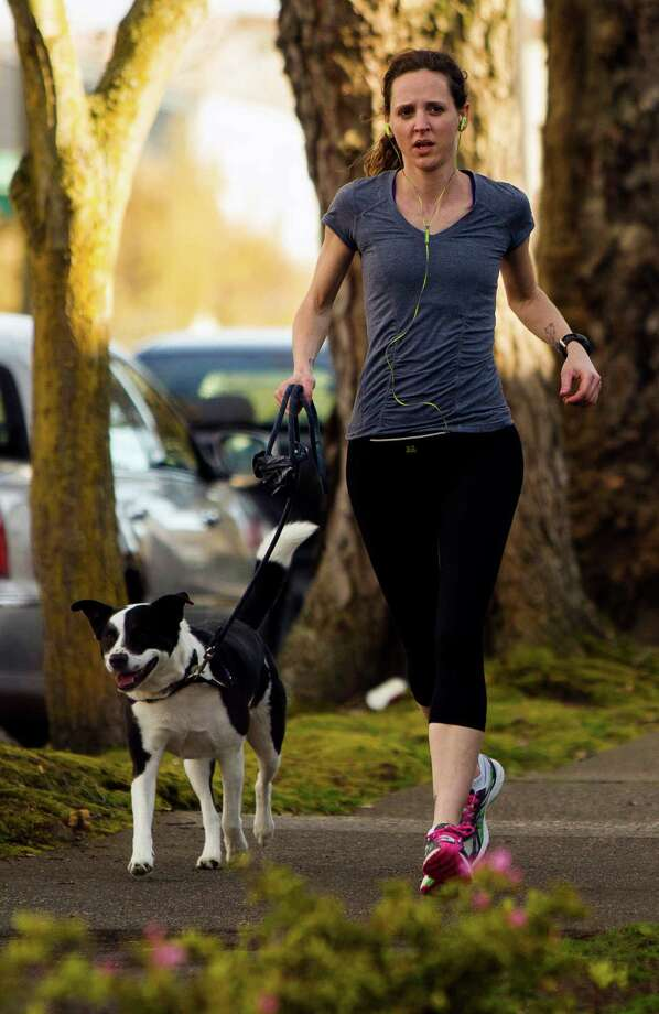 Ease up on the exercising. If you must work out, limit it to the early morning and evening. And drink even more water. Photo: JORDAN STEAD / SEATTLEPI.COM