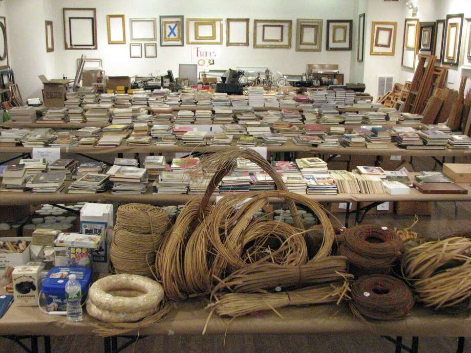 The Silvermine School of Art of New Canaan is hosting its annual Art Materials & Equipment Tag Sale Fundraiser from on Saturday, April 27. Proceeds will benefit the Silvermine Scholarship Fund. Photo: Contributed