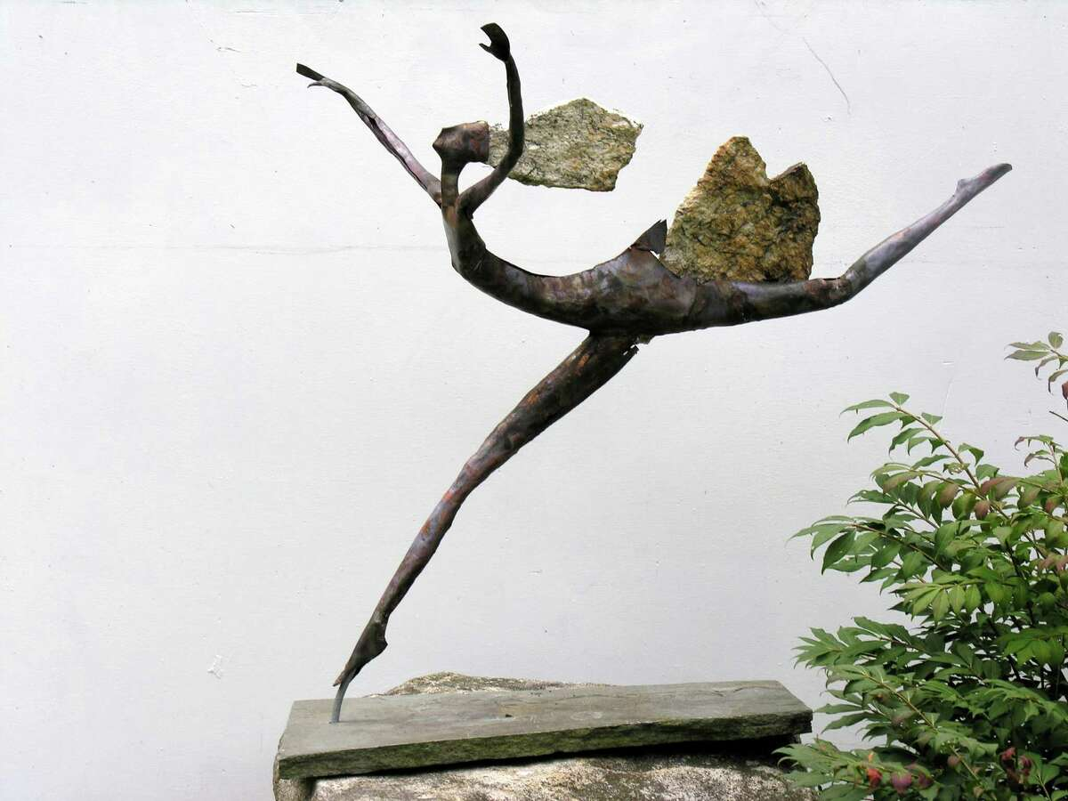 """In the New Canaan Society for the Arts """"Spectrum 2013"""" juried exhibition, first prize for sculpture was awarded to LubomirTomaszewski for """"Flight."""""""
