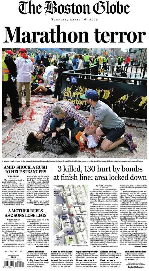 The Boston Globe. Photo: Newseum.org