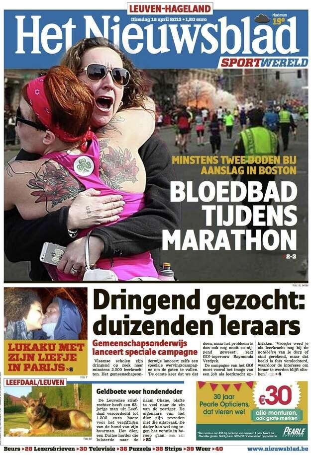 Het Nieuwsblad, Brussels. Photo: Newseum.org