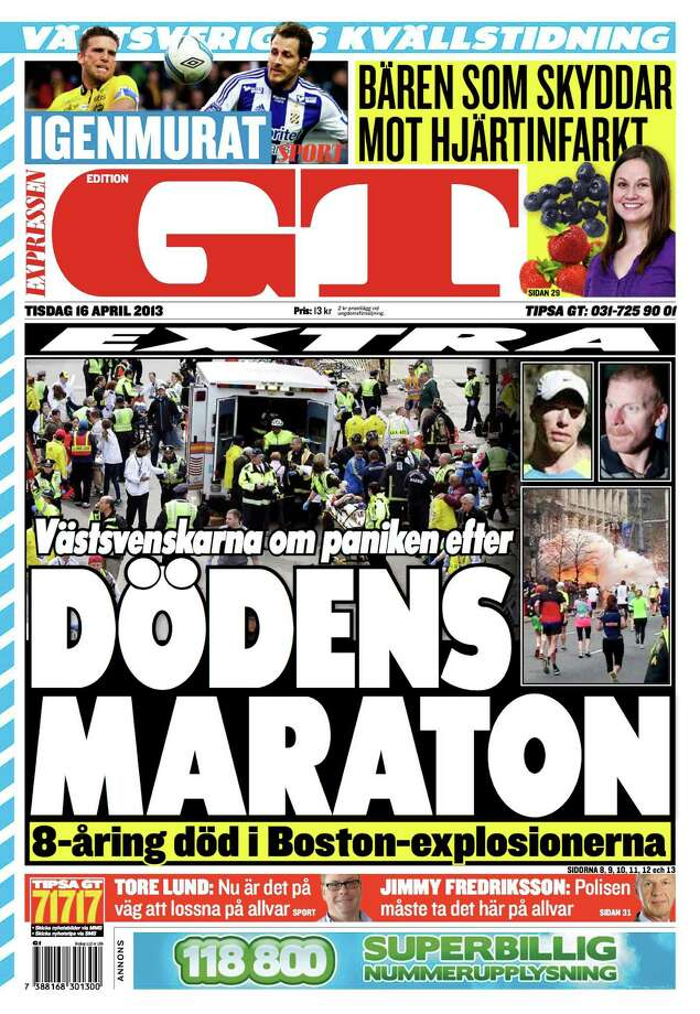 Expressen, Goteborg, Sweeden. Photo: Newseum.org