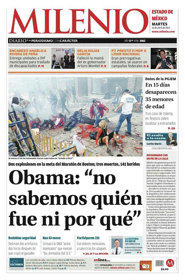 Milenio, Toluca, Mexico. Photo: Newseum.org