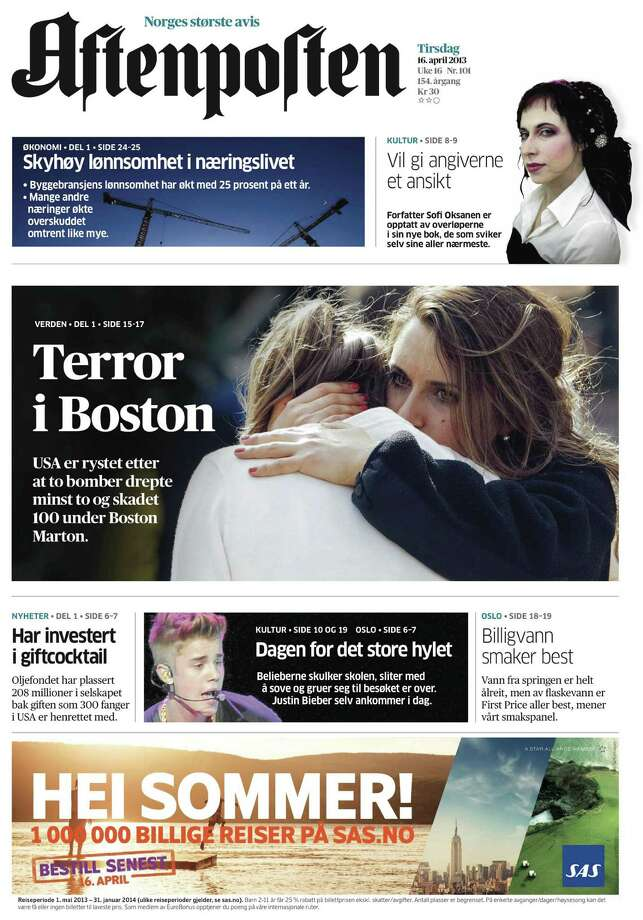 Aftenposten, Oslo, Norway. Photo: Newseum.org