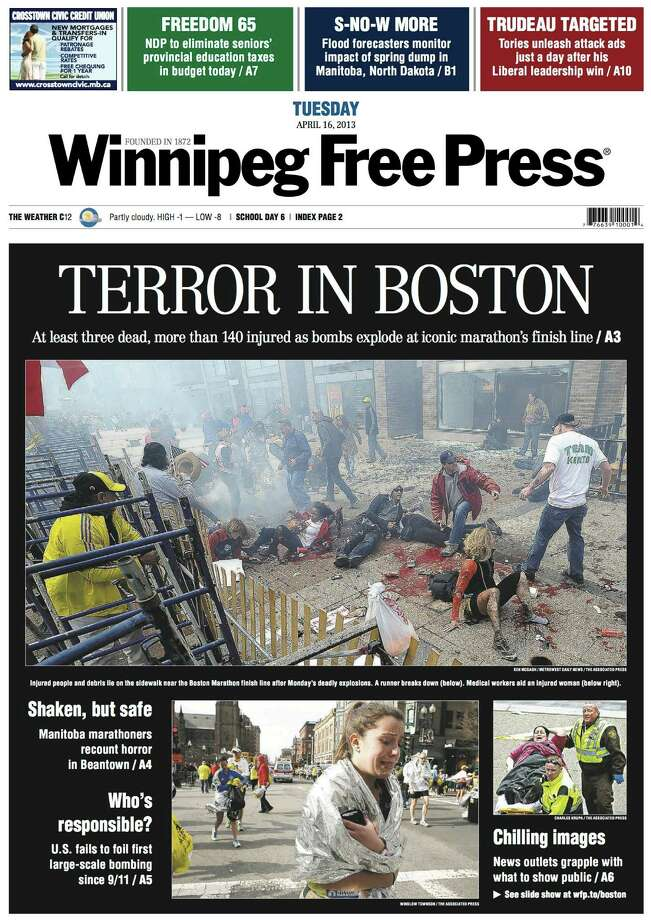 Winnipeg Free Press, Winnipeg, Canada. Photo: Newseum.org