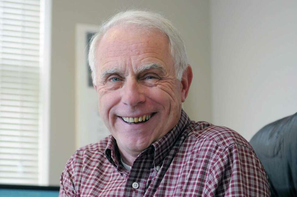 Hank Steadman, president of Policy Research Associates, poses in his office on Monday, March 25, 2013 in Delmar, NY. (Paul Buckowski / Times Union)