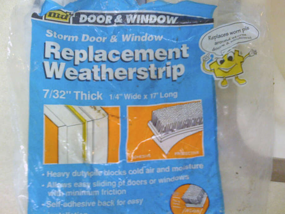 Replace Old WeatherstrippingAnother way to fix drafty doors and windows: Replace that worn-out weatherstripping. Weatherstripping keeps air from infiltrating the house by providing a tight seal around the doors and windows when they're closed, but it wears out over time.The Department of Energy estimates a 5 to 10 percent savings on energy bills by replacing weatherstripping that's degraded. Use a weatherstripping that can handle the friction of the doors and windows as they open and close.It should also compress to form a tight seal and let the doors and windows open easily without dragging. Right before the door or window closes completely, you should feel the weatherstripping provide a slight bit of resistance as it compresses, but it shouldn't make the door or windows difficult to open. As a good rule of thumb, replace the weatherstripping with the same type that you've been using.Source: Popular Mechanics Photo: Popular Mechanics