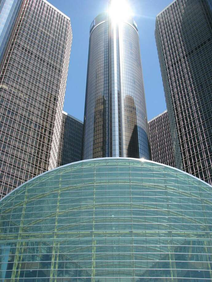 A  group of 7 inter-connected skyscrapers in Motor City (Detroit), evoking the grandest days of GM.