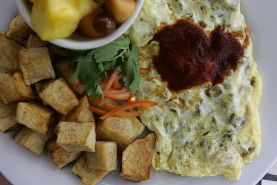 Zuni Grill\'s omelet.