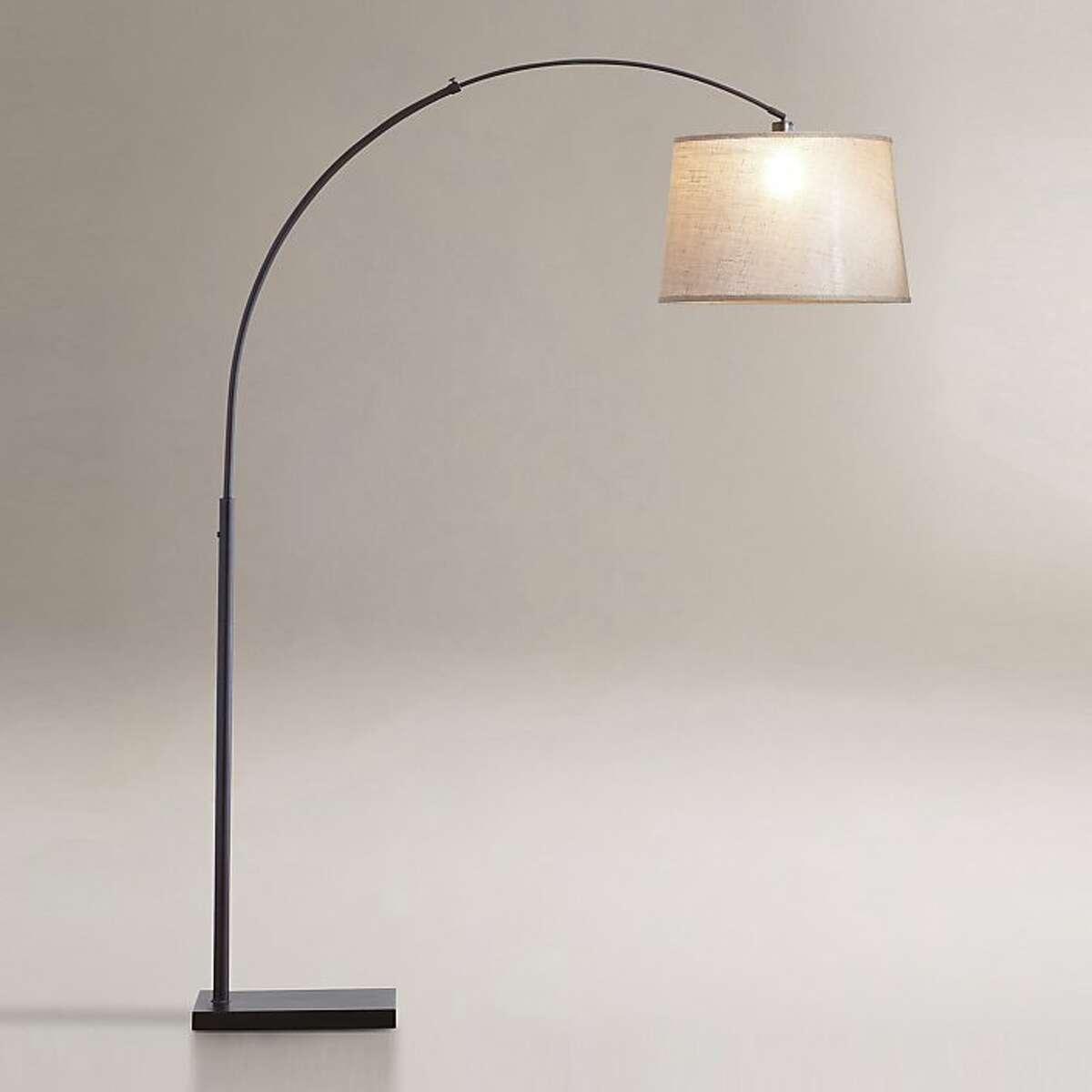 Less: $109.99 Loden Arc Floor Lamp Base www.worldmarket.com