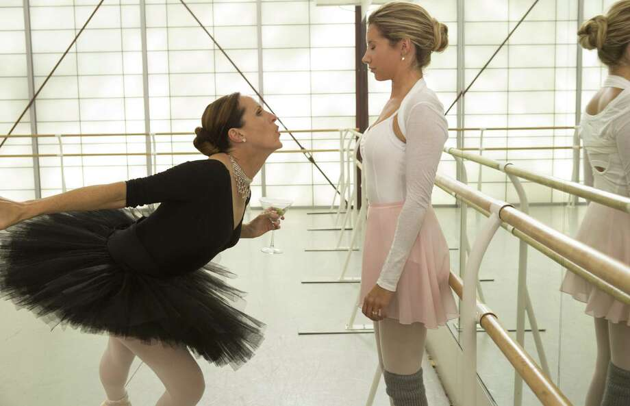 "This film publicity image released by Dimension Films/The Weinstein Co. shows Molly Shannon, left, and Ashley Tisdale in a scene from ""Scary Movie 5."" (AP Photo/Dimension Films/The Weinstein Co., Quantrell D.Colbert) Photo: Quantrell D.Colbert"