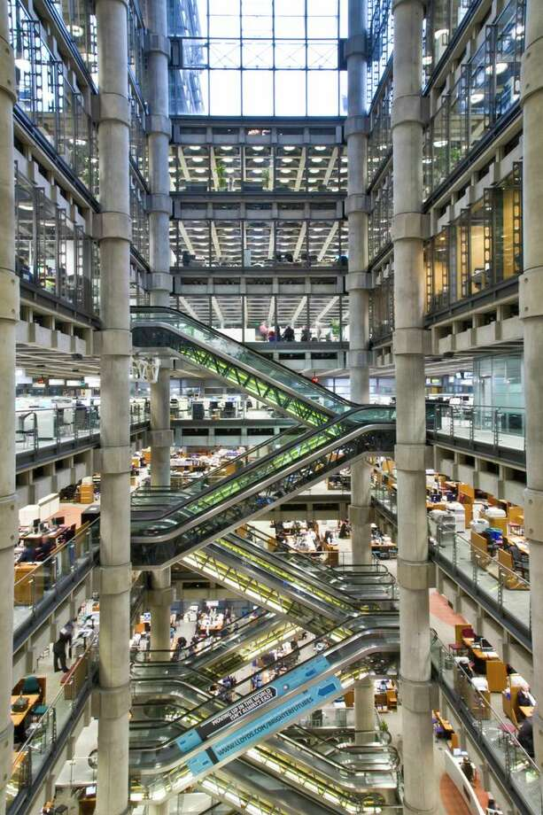 "In London, the Lloyd's Building is the youngest building ever to obtain Grade I listing, considered a ""key buildings of the modern epoch"" according to Architects Journal"