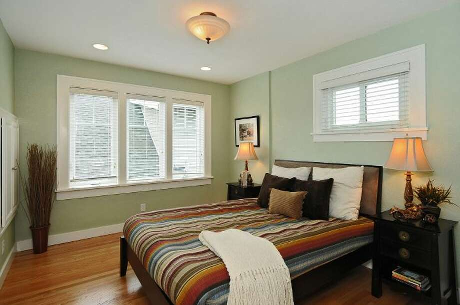 Bedroom of 2109 N. 39th St. The 2,220-square-foot house, built in 1924, and later added onto, has four bedrooms, two bathrooms, built-ins, a finished basement and a patio on a 1,1817-square-foot lot. It's listed for $625,000. Photo: Courtesy Russ Katz, Windermere Real Estate