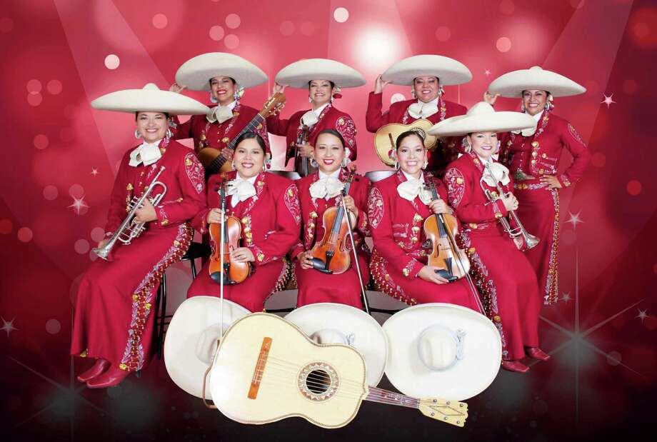 San Antonio's Mariachi Las Alteñas will perform at the Festival International de Louisiane in Lafayette, La. Photo: Mariachi Las Alteñas