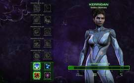 An image of the Starcraft II: Heart of the Swarm. Introduced in the second installment of a three-part sequel, players can now upgrade and add/remove abilities and powers for their units.