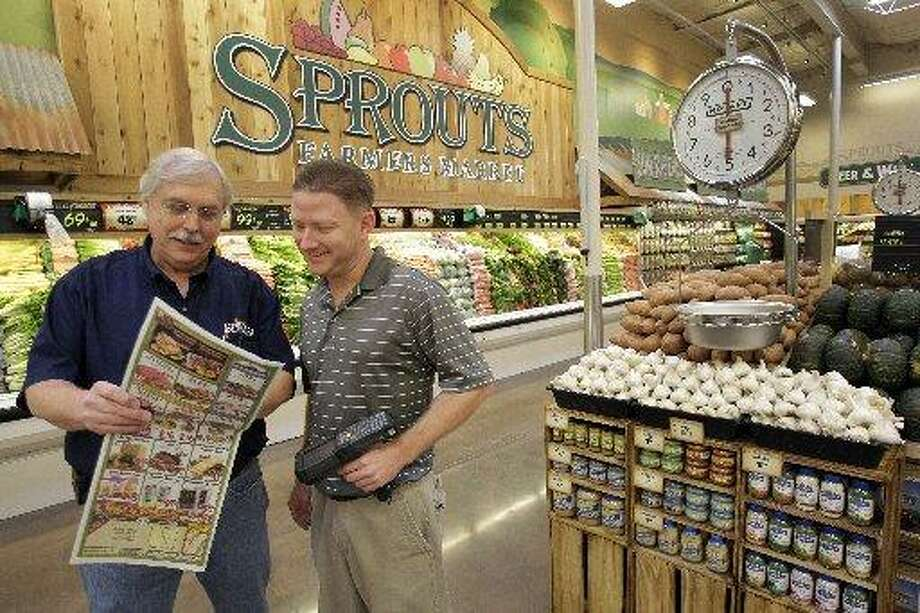 Sprouts sells its own brand of items and is known for selling grains and nuts in bulk.  Photo: Melissa Phillip, Houston Chronicle
