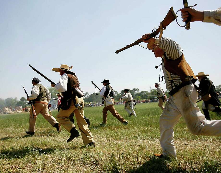 April(Date TBA):The San Jacinto Day Festival and Battle Reenactment brings history to life at the San Jacinto Monument. Photo: Karen Warren, Staff / Houston Chronicle