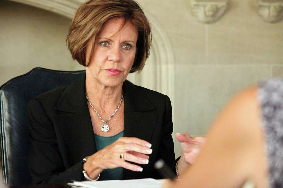 City Manager Sheryl Sculley discusses boarding home issues with EN editorial board on Tuesday September 25, 2012 Photo: JUANITO M GARZA, For The Express-News / San Antonio Express-News