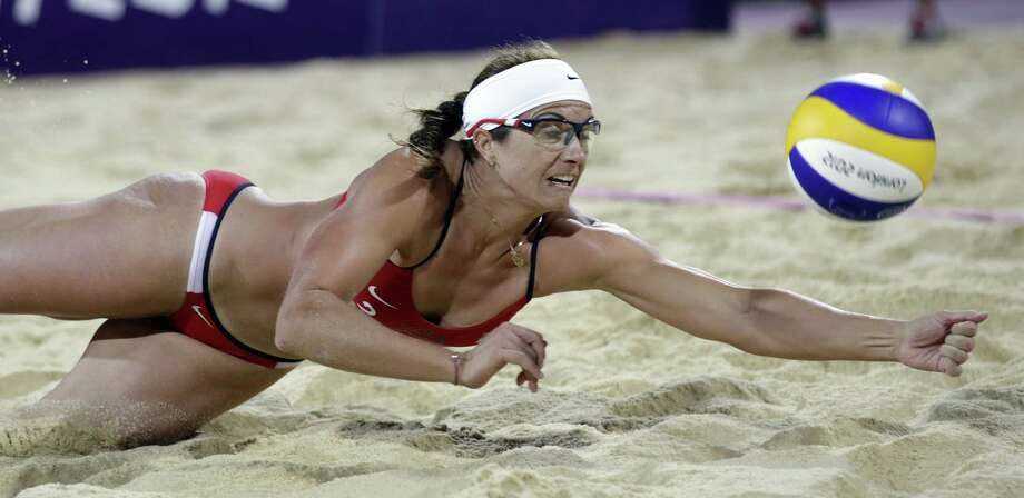 Beach volleyball star Misty May-Treanor will help Mayor Julián Castro open the festivities at Fiesta Fiesta. Photo: Associated Press File Photo