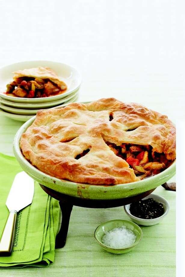 Good Housekeeping recipe for Chicken Gumbo Pot Pie. Photo: Monica Buck
