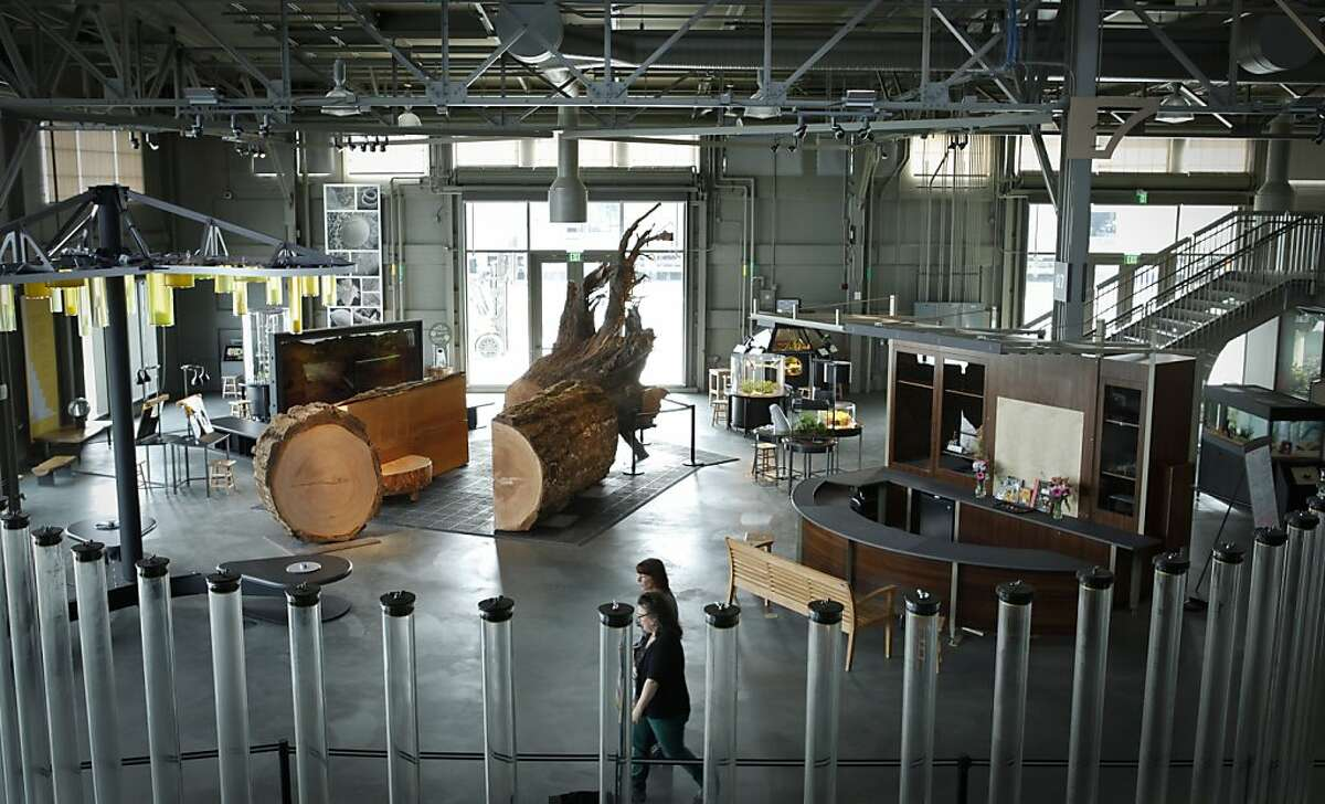 The East Gallery of the Exploratorium is seen on Monday, March 25, 2013 in San Francisco, Calif.