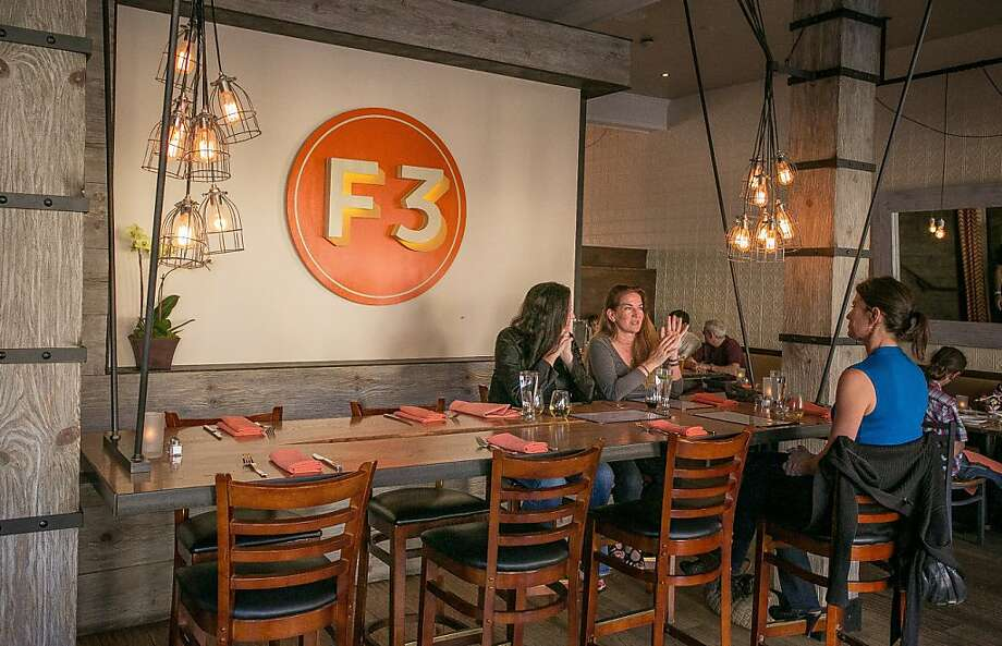 Fast Food Francaise, F3 for short, in Sausalito is a French bistro - casual yet chic - with a menu that tops out at $13 for an organic, grass-fed burger. Photo: John Storey, Special To The Chronicle