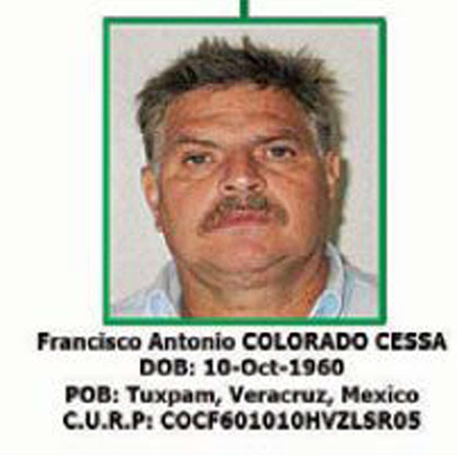 Francisco Antonio Colorado Cessa, Los Zetas Cartel Photo: US Treasury