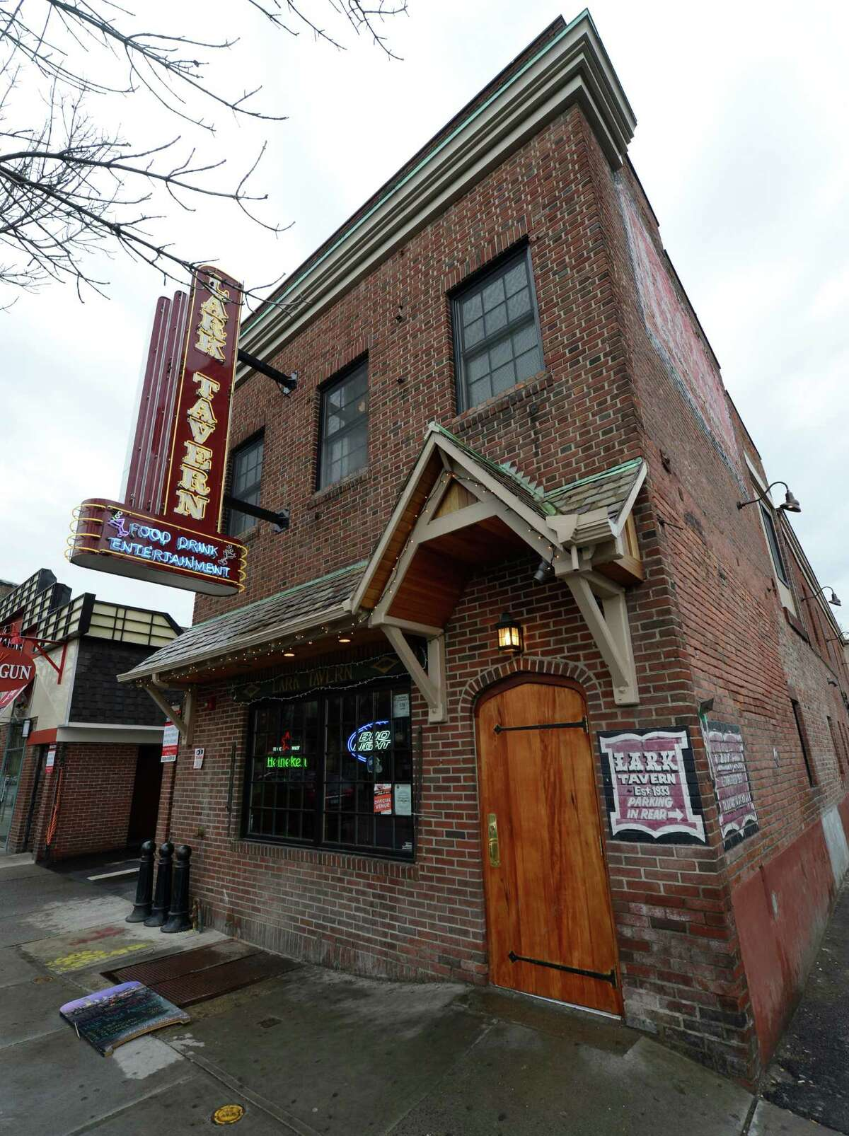 The Lark Tavern, a watering hole near the corner of Lark Street and Madison Avenue in Albany starting in 1933, has been closed since the pandemic began in March, and the building is for sale.