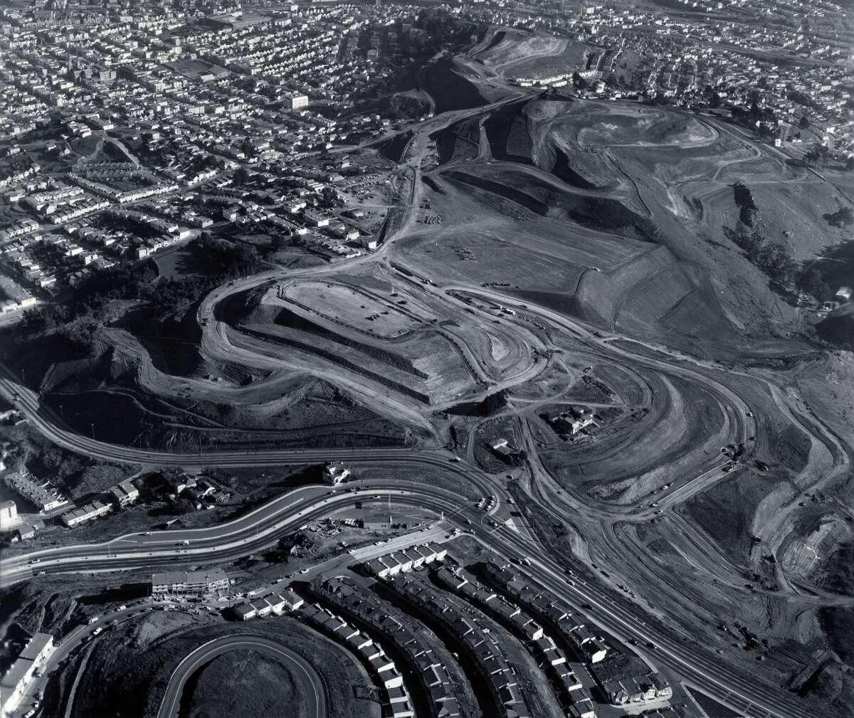 Diamond Heights in 1961.