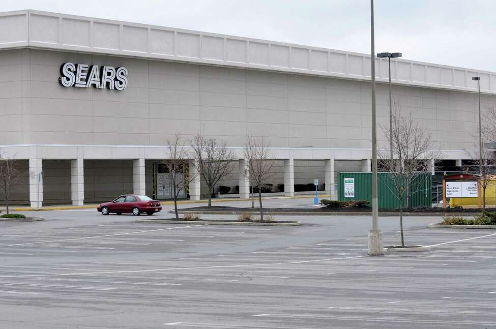 Exterior of Colonie Center on Wednesday, April 10, 2013 in Albany, N.Y. Whole Foods, which will be going into this part of Sears, is under construction. (Lori Van Buren / Times Union)