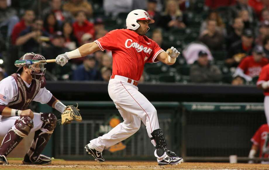 Frankie Ratcliff's career-high five RBIs led UH to a 12-2 win over TSU. Photo: UH