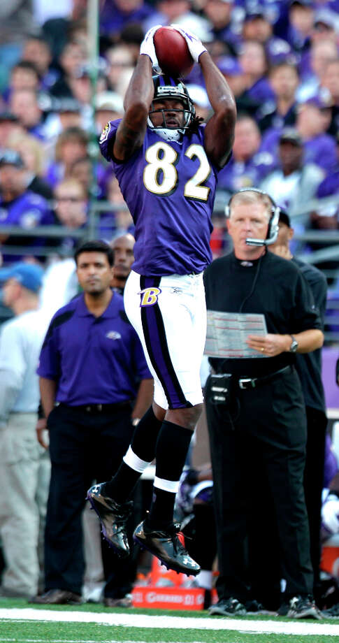 Torrey Smith, 2th round, drafted by Baltimore in 20011 Averaged 16.6 yards per catch and nine touchdowns over last three seasons. Photo: Brett Coomer, Houston Chronicle / © 2011  Houston Chronicle