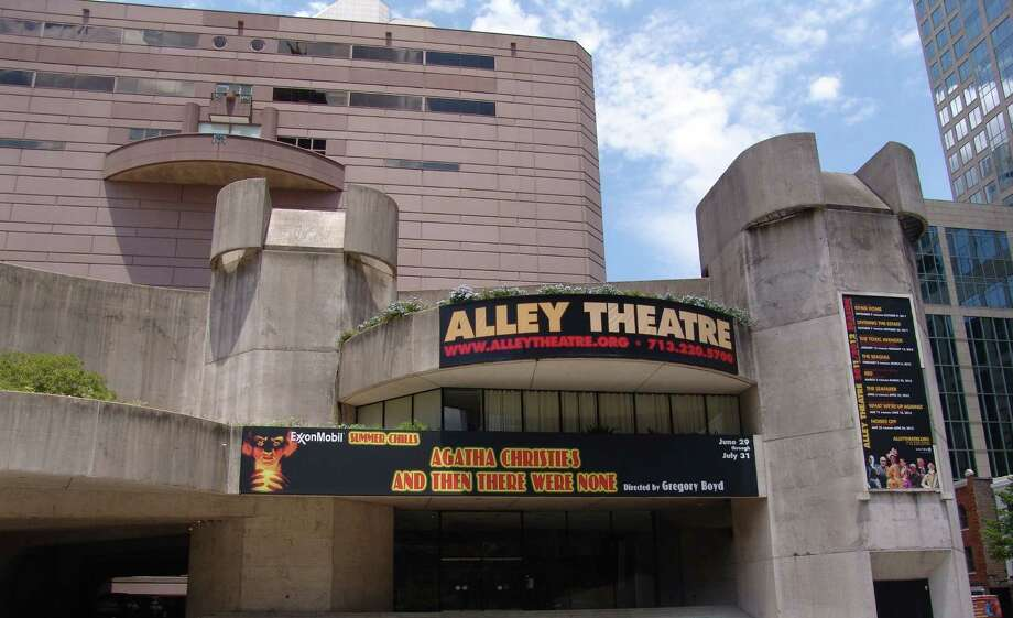 The Alley Theatre opened in 1968. Photo: ., Courtesy Of Alley Theatre / handout
