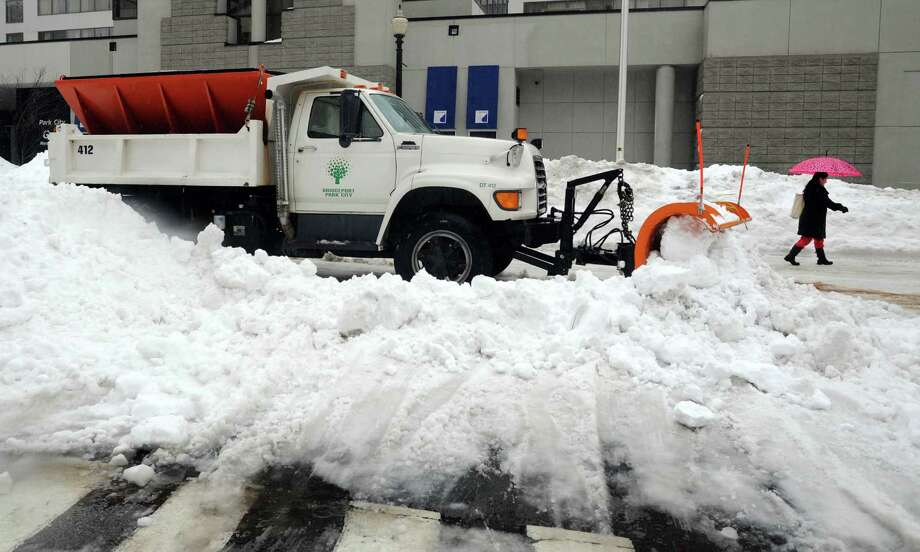 "Bridgeport Public Facilities Manager Charles Carroll said the city does not have enough drivers to plow city streets. Bridgeport came under severe criticism for long delays in clearing city streets after 30 inches of snow fell in the February 2013 blizzard. ""We don't have enough people to drive the trucks we have. We just don't have them,"" Carroll told the City Council's Budget Committee on April 16, 2013. Photo: Cathy Zuraw / Connecticut Post"