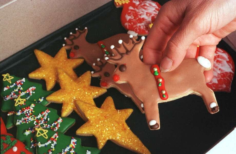 Christmas cookies at Paulie\'s