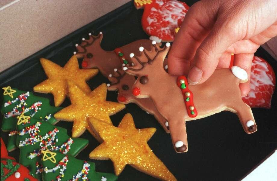 Christmas cookies at Paulie\'s